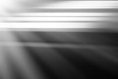 Ficheros blancos y negros horizontales con el fondo ligero del escape Imagen de archivo libre de regalías