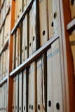 Ficheros del arco de la palanca Fotografía de archivo libre de regalías