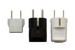 Fiches électriques Photos stock