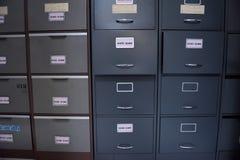 Fichiers d'archives Image libre de droits