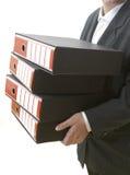 fichiers de 1 affaires photo stock