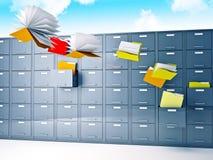 Fichiers de vol Images libres de droits