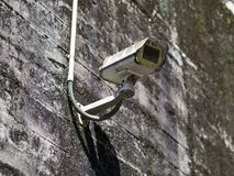 Fichue caméra de sécurité photo libre de droits