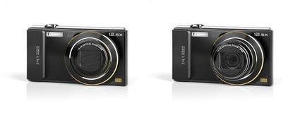 Fick- digitala kameror. Arkivbild