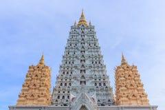 Fico delle indie orientali Gaya Pagoda, Chonburi Tailandia Immagine Stock
