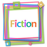 Fiction Colorful Frame Royalty Free Stock Photography