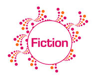 Fiction Pink Orange Abstract Dots Royalty Free Stock Photos