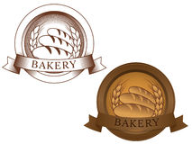 Fictional bakery logo Royalty Free Stock Photo