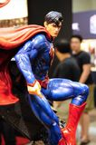 Fictional Character of Superman action figures from DC movies and comic. KUALA LUMPUR, MALAYSIA -APRIL 24, 2018: Selected focused fictional character of stock photography