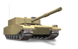 Fictional tank. It represents a fictional tank Royalty Free Stock Photography