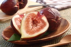 Ficus carica fruit Stock Photography