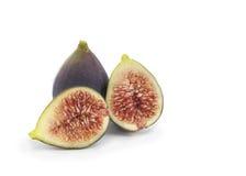 Ficus carica geïsoleerd fig. Stock Afbeeldingen