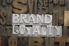 Fidélité à la marque rencontrée images libres de droits