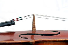 Fiddle bridge Royalty Free Stock Image