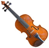 Fiddle Cutout Photo stock