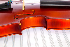 Fiddle Royalty Free Stock Photo