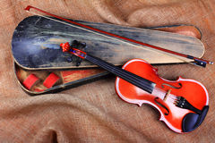 Fiddle Royalty Free Stock Image