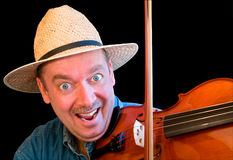 Fiddle Player Stock Images