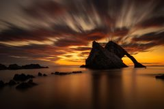 Free Fiddle Rock Dawn Royalty Free Stock Photo - 163126955