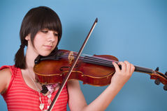 Fiddler Imagens de Stock Royalty Free