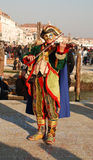 Fiddler at Carnival Stock Image