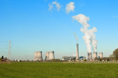 Fiddler's ferry coal fired Power Station Stock Image