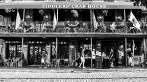 Fiddlers Crab House, Savannah, GA Stock Photos
