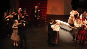 The fiddlers - dance ensemble Háromszék stock video