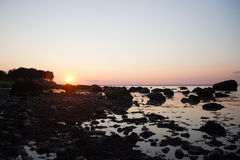 Fiddlers' Green Beach Sunset Royalty Free Stock Images