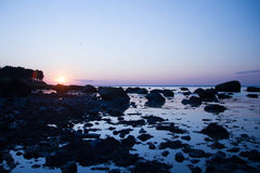 Fiddlers' Green Beach Sunset Royalty Free Stock Photography