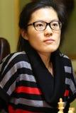 FIDE妇女的世界棋冠军 图库摄影