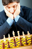 FIDE Grand Master Vugar Gashimov (World Rank - 12). From Azerbaijan Royalty Free Stock Photos