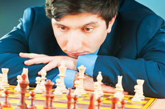 FIDE Grand Master Vugar Gashimov (World Rank - 12) Royalty Free Stock Images
