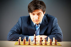 FIDE Grote HoofdVugar Gashimov (de Rang van de Wereld - 12) Royalty-vrije Stock Foto