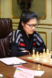 FIDE Women's World Chess Championship Royalty Free Stock Photography