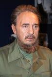 Fidel Castro à Madame Tussaud's Images libres de droits