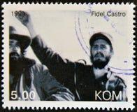 Fidel Castro Stock Image