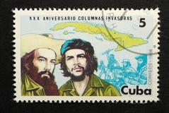 Fidel Castro and Che Guevara royalty free stock photo
