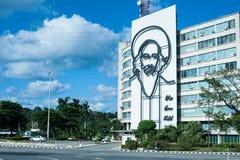 Fidel Castro Plaza de la Revolucion stockbilder