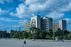 Fidel Castro Plaza de la Revolucion stockfotografie