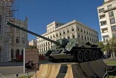 Fidel Castro's tank, Havana, Cuba Stock Photography