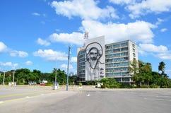Fidel at Revolution square, Havana Royalty Free Stock Photography