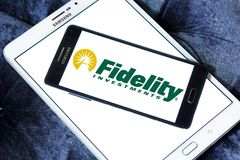 Fidelity Investments company logo Royalty Free Stock Image
