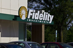 Fidelity Investments Consumer Location III Royalty Free Stock Photography