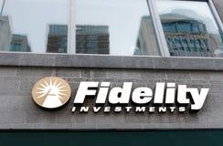 Fidelity Investments-tak stock foto's