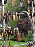 Fidelity padlocks. Stock Photo