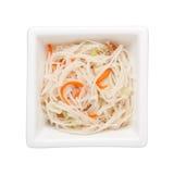 Fideos sofritos del arroz Foto de archivo