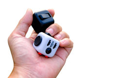Fidget Cube Royalty Free Stock Images