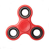 Fidget finger spinner stress anxiety relief toy isolated on white background. Royalty Free Stock Photos