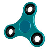 Fidget hand 3d spinner toy for increased focus, stress relief. Relaxation device. Royalty Free Stock Photos